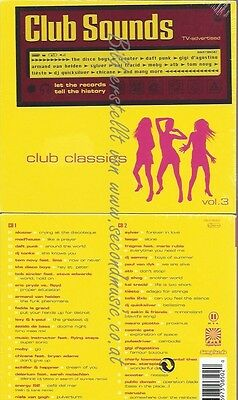 Cd--Various--Club Sounds-Club Classics Vol.3 | Doppel-Cd