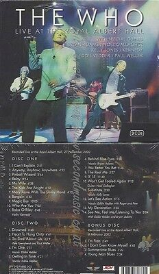 Cd--The Who--Live At The Royal Albert Hall | Doppel-Cd