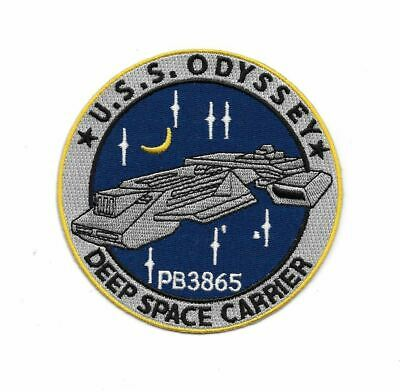 Stargate SG-1 / Atlantis U.S.S. Odyssey Ship Logo Embroidered Patch NEW UNUSED
