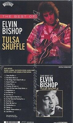 Cd--Elvin Bishop--Roots N'blues-Tulsa Shuffle-The Best Of Elvin Bish