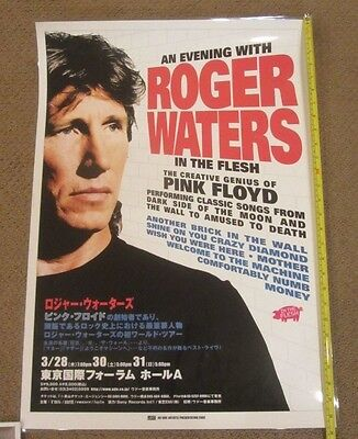 2002 Roger Waters Japan Concert / Tour Poster Pink Floyd