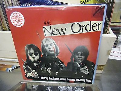 New Order Self Titled S/T 1977 LP NEW RED Colored vinyl [STOOGES Limited MC5]
