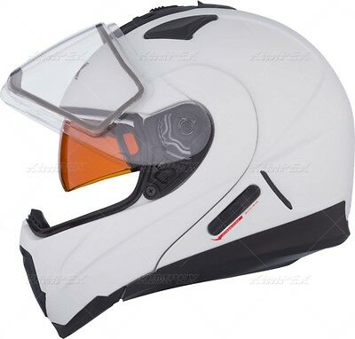 New Ckx Snowmobile Helmet Size 5Xl Plus Size Modular Rsv Drop Down Visor