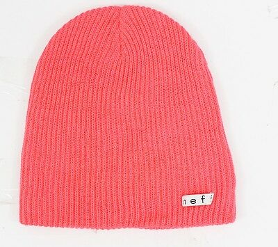 6a78a0e45c1 NEW WITHOUT TAGS NEFF Daily Beanie Neon Pink -  11.17