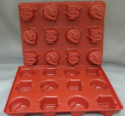Florida State University Jello Jiggler Molds Set of 2 New College Sports Shots