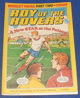 Roy Of The Rovers Comic 21St August 1982  Sign Please Martin O'neill