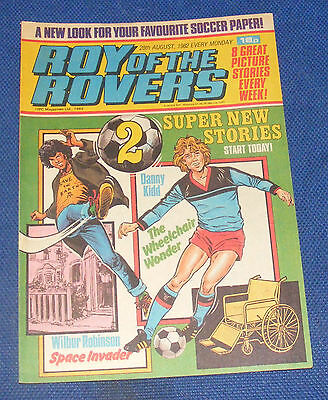 Roy Of The Rovers Comic 28Th August 1982  Sign Please Ronnie Whelan