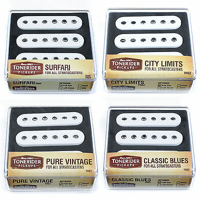 Tonerider 3 Pickup Set for Fender Strat/Stratocaster Guitar (Pure Vintage etc)