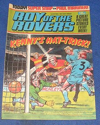 Roy Of The Rovers Comic 2Nd October 1982  Sign Please Frank Carrodus