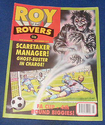 Roy Of The Rovers Comic 23Rd January 1993