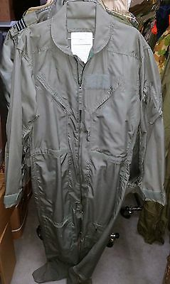 Raaf Nomex Flight Suit Coveralls - Australian Air Force Issue Us Made