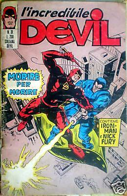 1971/31 L'Incredibile DEVIL Anno II - Editoriale Corno