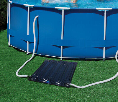 LARGE ECONOMY SOLAR POWERED POOL HEATER for ABOVE GROUND SWIMMING POOLS INTEX
