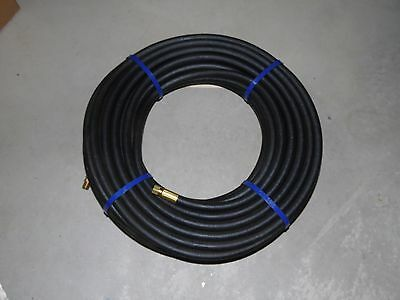 "New 1/4"" Propane , Lp Gas Hose 100',350 Psi Pipe Tape Included Free Shipping"