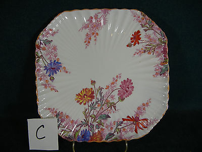 Copeland Spode Chelsea Garden R9781 Square Luncheon Plate(s) - Various Designs