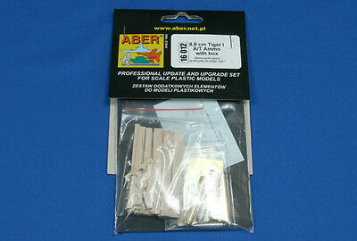 ABER 16 012 1/16 8,8cm Tiger I A/T Ammo with box