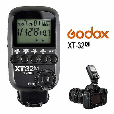 Godox XT32C HSS 1/8000s 2.4G Wireless Flash Trigger Receiver For Canon TT685C
