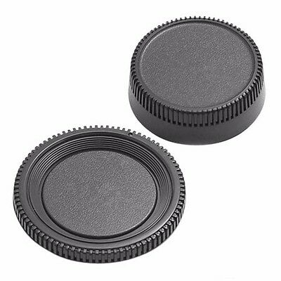 Plastic Body Front+Rear Lens Cap Cover For Nikon AF AF-S Lens DSLR SLR Camera CA