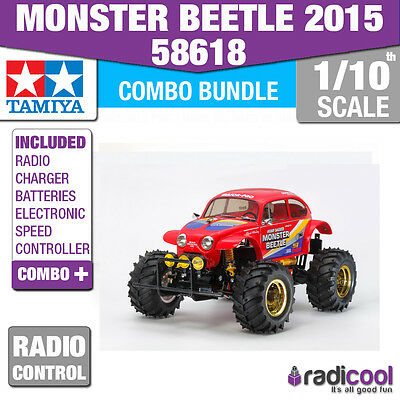Super Combo Pack! 58618 Tamiya Special Edition Monster Beetle R/c Radio Control