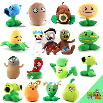 ~Cute PLANTS vs. ZOMBIES Popular Game Soft Plush Toy Stuffed Doll Kid Baby Gift~