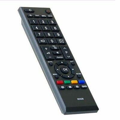 TV Remote Control Pour Toshiba CT-90326 Remplacement intelligent HD LED / LCD TV