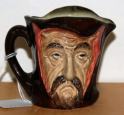Small Royal Doulton Character Jug Mephistopheles ***very Rare Excellent***