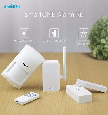 Broadlink S1C Smartone Kit Home Automation Security Alarm System With Remote