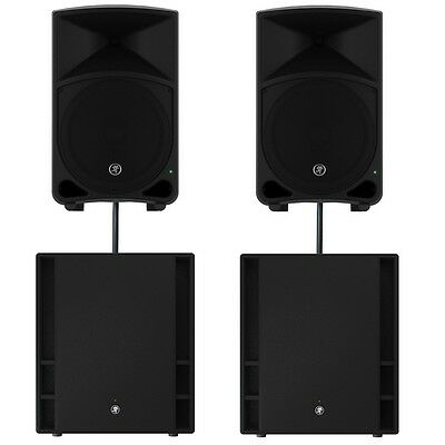 Mackie Thump 15 V3 15 Inch Active Speakers & 18S V3 Subwoofers PA Sound System