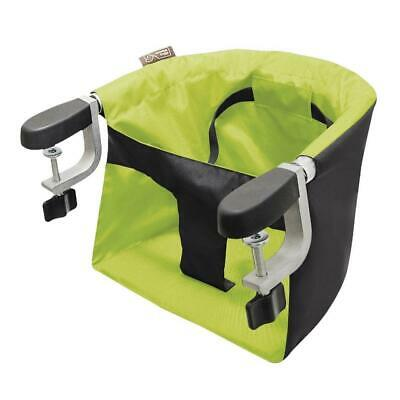 Mountain Buggy Pod v3 Portable Clip on Highchair (Lime Green) with Carry Bag