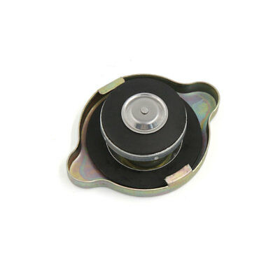 Universal Gold Tone Metal Radiator Cap Cover M Size for Auto Car
