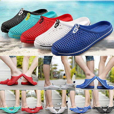 Beach Mesh Slippers Sandals Men Women Air Casual Breathable Summer Couple Shoes