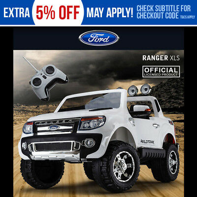 Licensed Ford Ranger Electric Ride On Car -Truck Battery Toy Motorised Children