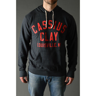 Roots of Fight Cassius I Am The Greatest French Terry Hoodie - Vintage Black