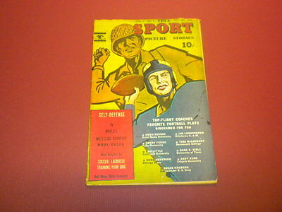 TRUE SPORT PICTURE STORIES Volume 3 #4 Street & Smith 1945
