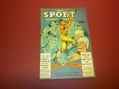 TRUE SPORT PICTURE STORIES Volume 3 #5 Street & Smith 1946