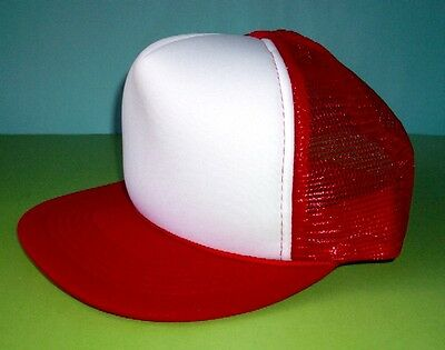 Skateboarders Cap Red - Retro!  New!