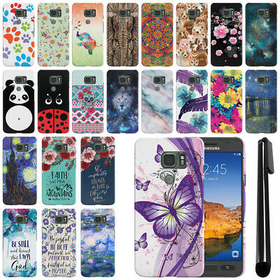 For Samsung Galaxy S7 ACTIVE G891 HARD Protector Back Case Phone Cover + PEN