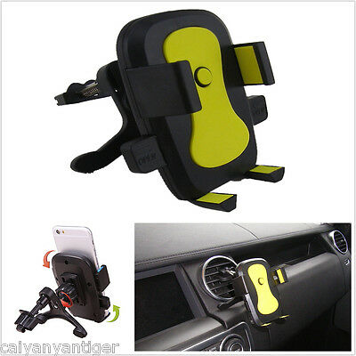 360° Rotatable Retractable Car Air Vents Mount Holder For All Cell Phone GPS
