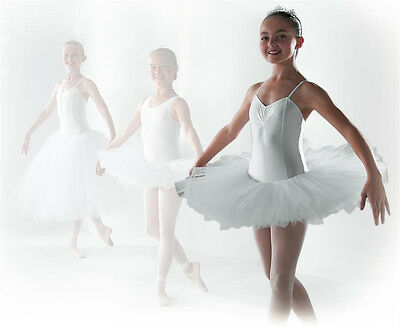 TO ORDER Ruched Front Camisole Ballet 8 Layer Tutu all Colours all Sizes