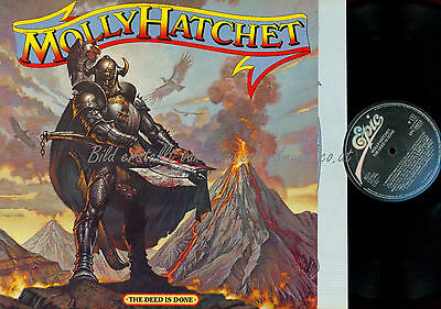 Lp--Molly Hatchet The Deed Is Done //Ois