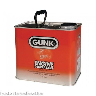 Gunk Engine Cleaner Degreaser 2.5L Deep Clean Fast Acting Degrease Remove Grime