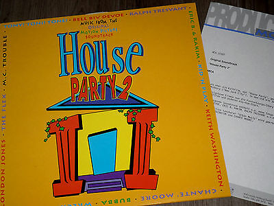 House Party 2 - Ost - Lp Mint + Product Facts!!
