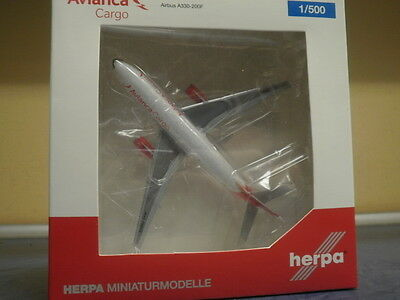 Herpa Wings 1:500 Airbus A330F Avianca Cargo