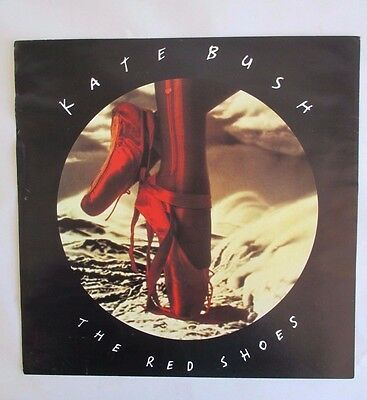 1993 Kate Bush The Red Shoes Promotional Lp Flat Poster Sony Records