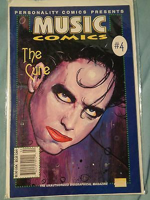 PERSONALITY MUSIC COMICS The CURE #4 comic book Robert Smith 1992 Biographical