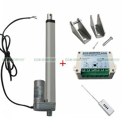 """10"""" 12V Heavy Duty 330lbs Linear Actuator for Electric Medical Auto Use ICU Bed"""