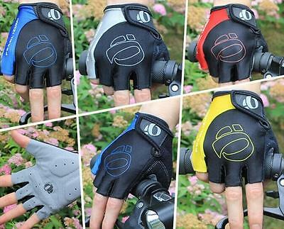 Outdoor Bike Bicycle Breathable Sport GEL Cycling Half FInger Gloves M/L/XL