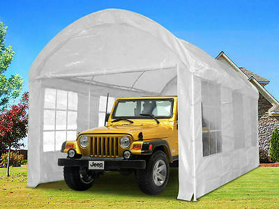 Quictent® 6mx3m Heavy Duty Tunnel Marquee Gazebo Canopy Party Carport Tent