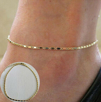New Women Simple Chain Anklet Ankle Bracelet Barefoot Sandal Beach Foot Jewelry