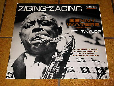 Benny Waters Feat. Art Taylor - Ziging And Zaging - Lp France!!